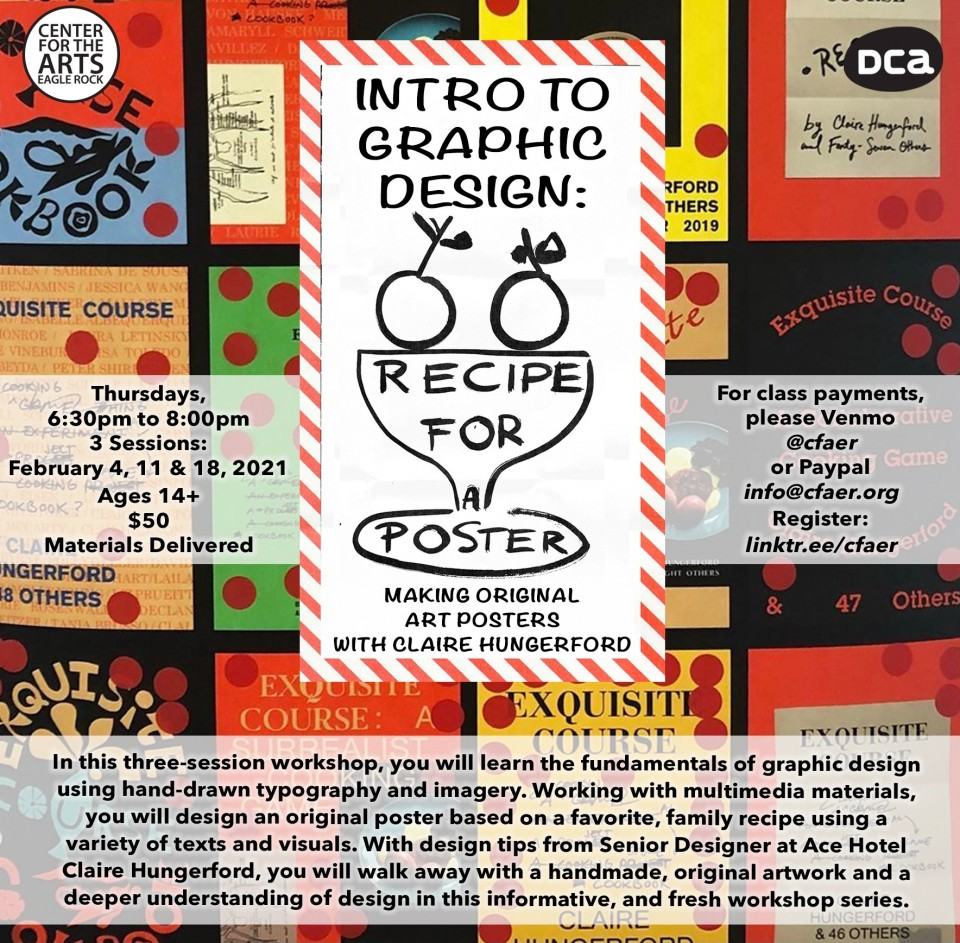 Come and sign up for our newest graphic design workshop!